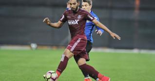 FOTBAL:CFR CLUJ-FC VIITORUL, PLAY OFF LIGA 1 ORANGE (9.04.2017)