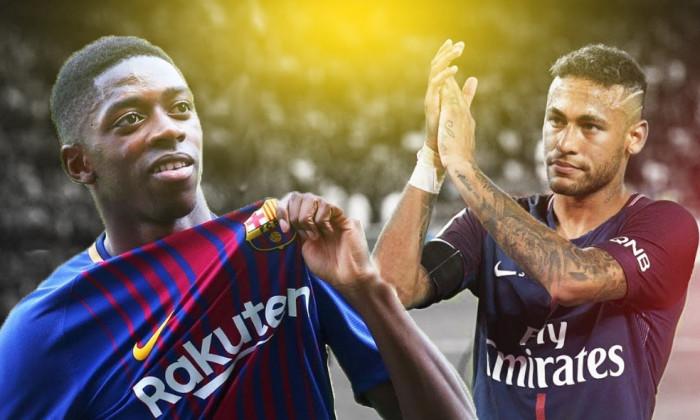 Dembele si Neymar
