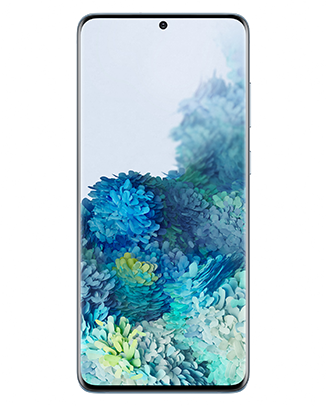 SM-G985,G986_S20+_Front_Cloud-Blue_191230