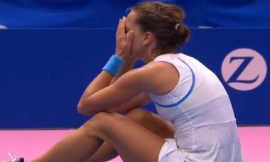 O tenismena de top a izbucnit in lacrimi pe teren din cauza arbitrei pe care Wozniacki a vrut sa o dea in judecata