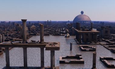 A fost descoperita Atlantida? Ruinele unui oras fantastic disparut sub apa au fost gasite in Europa