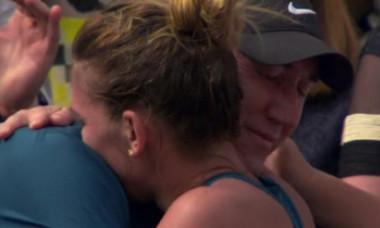 Darren Cahill, gest fără precedent față de Simona Halep. S-a întâmplat chiar la sfârșitul finalei de la Cincinnati