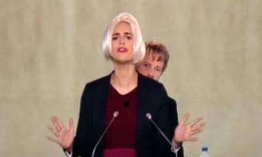 Viorica Dăncilă și Liviu Dragnea, batjocoriți la o televiziune din Franța